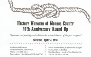 History Museum of Monroe County 10th Anniversary Round Up @ Annbriar Golf Course